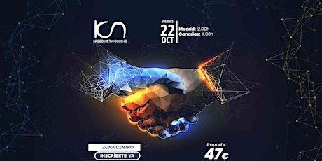 KCN Speed Networking Online Zona Centro 22 OCT entradas