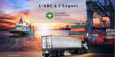 L' ABC à l'export tickets