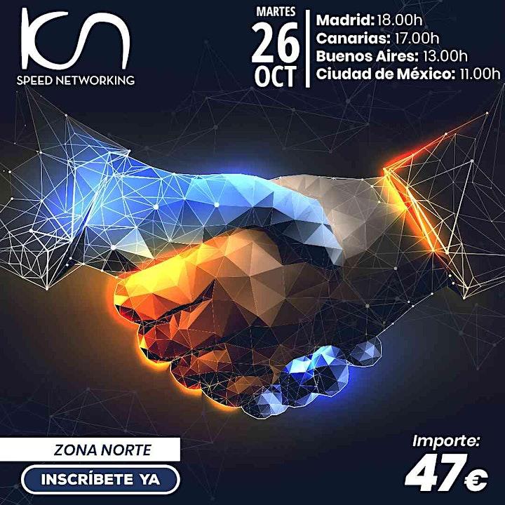 Imagen de KCN Speed Networking Online Zona Norte 26 OCT