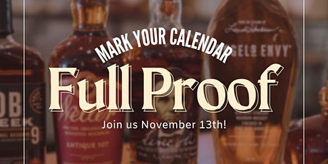 Full Proof: A Bourbon Culinary Experience tickets