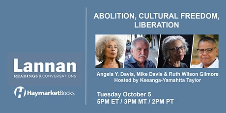 Abolition, Cultural Freedom, Liberation tickets