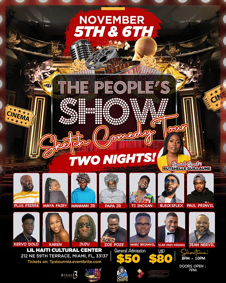 """""""The People's Show"""" Sketch Comedy Tour MIA image"""