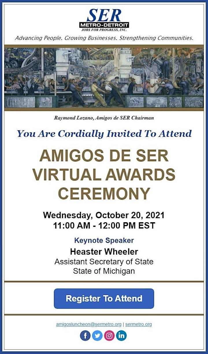 AMIGOS DE SER VIRTUAL AWARDS CEREMONY image