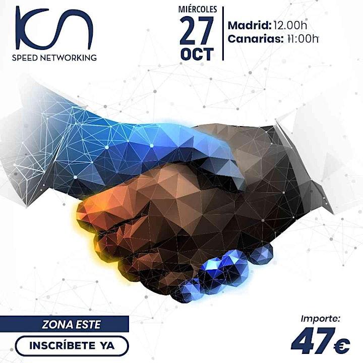 Imagen de KCN Speed Networking Online Zona Este 27 OCT