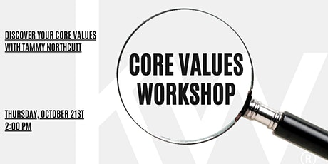 Core Values Workshop with Tammy Northcutt tickets