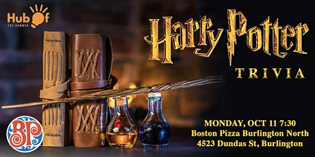 Harry Potter Trivia - Boston Pizza Burlington North tickets