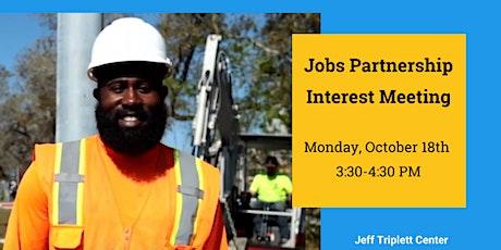 Jobs Partnership Interest Meeting tickets