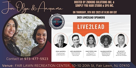Live2Lead 2021 ZSolutions IN PERSON event in DEC_ZNDKIN12 tickets