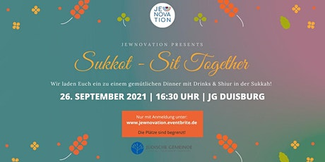 Sukkot - Sit Together Tickets