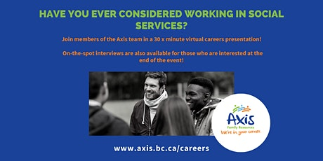 Virtual Careers Information Session and Hiring Fair with WorkBC Kelowna tickets
