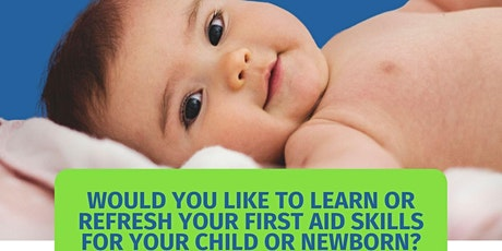 Parents Baby & Child First Aid Awareness Workshop tickets