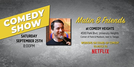 Stand-Up Comedy Show - September 25th tickets