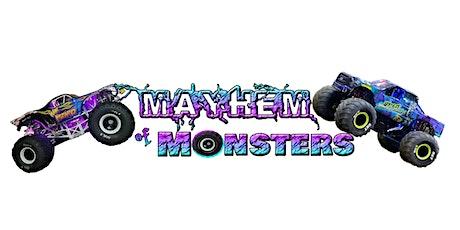 Mayhem of Monsters Invade Harris Speedway tickets
