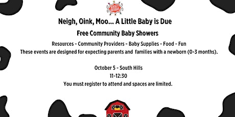 Free Community Baby Shower -- South Hills tickets