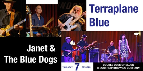Terraplane Blue + Janet & The Blue Dogs cobill at Southern Brewing Co! tickets