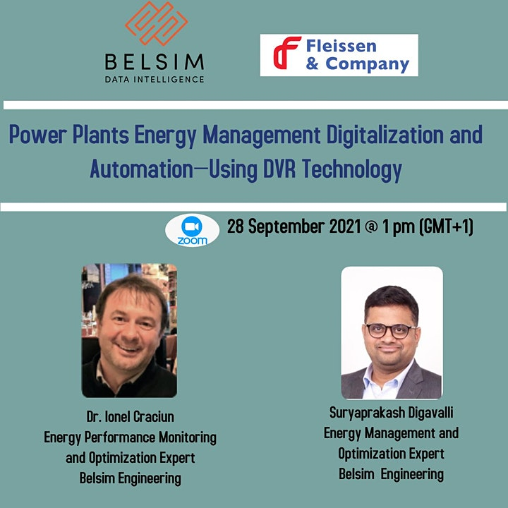 Power Plants Energy Management Digitalization and Automation—Using DVR Tech image