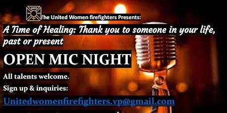 United Women Firefighters Open Mic: Time of Healing tickets