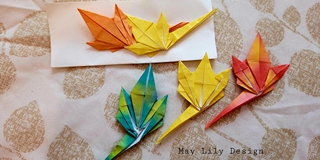 Origami Maple Leaf, Fall Leaves (Teens/Adults Paper Folding Craft Workshop) tickets