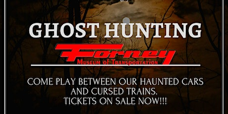 Ghost Hunting tickets