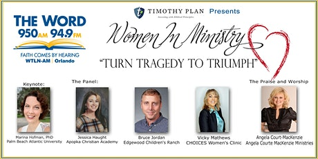 """Women In Ministry  Action Conference - """"Turn Tragedy To Triumph"""" tickets"""