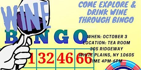 BINGO Wine Tasting tickets