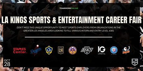2021 LA Kings Sports & Entertainment Career Fair (Pres. by TeamWork Online) tickets