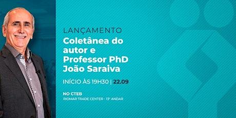 [FORTALEZA] Lançamento - Coletânea do autor e professor PhD João Saraiva ingressos