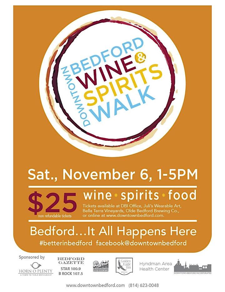 Wine & Spirits Walk image