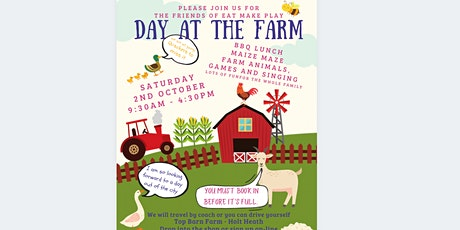 Eat Make Play Day at the Farm tickets