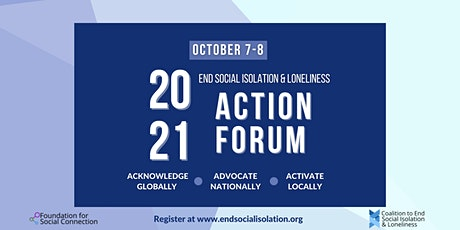 End Social Isolation & Loneliness Action Forum tickets
