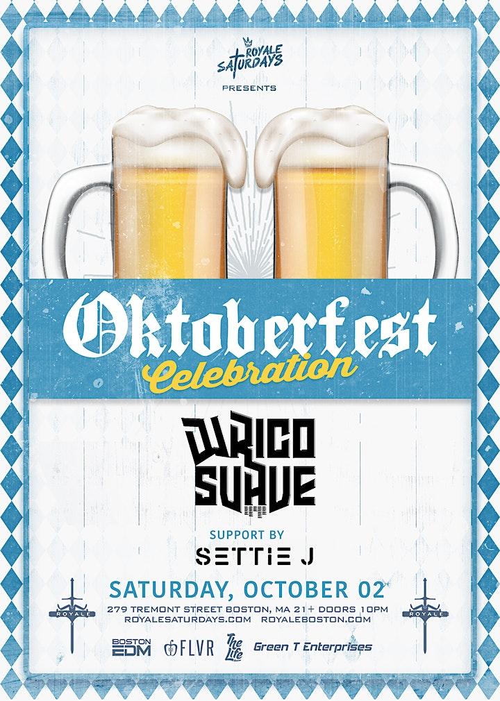 Oktoberfest Celebration   Royale Saturdays   10.2.21   10:00 PM   21+ image