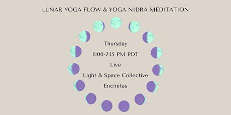 Lunar Yoga Flow and Yoga Nidra Meditation tickets