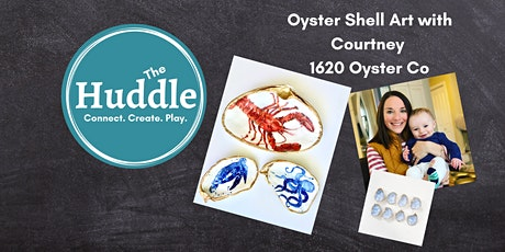 Oyster Shell Decoupage Dish 1620 OysterCo tickets