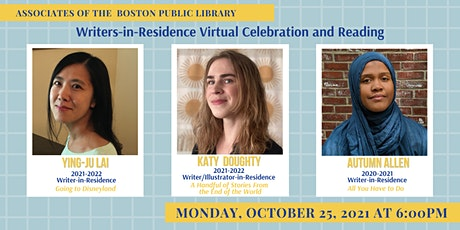 Writers-in-Residence Virtual Celebration and Reading tickets
