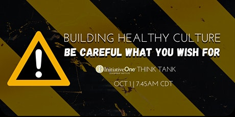 iOne Think Tank - October 2021 tickets