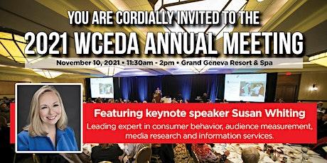 2021 WCEDA Annual Meeting tickets