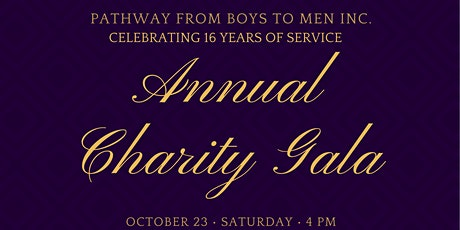 Pathway From Boys To Men Inc.  Annual Gala: Celebrating 16 Years of Service tickets