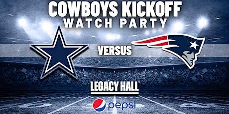 Cowboys vs. Patriots Watch Party tickets