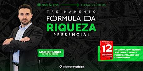 [CURITIBA/PR]  Workshop - A fórmula da Riqueza ingressos