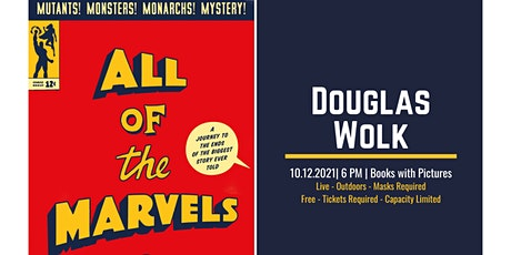All of the Marvels Book Launch with Douglas Wolk and His Amazing Friends tickets