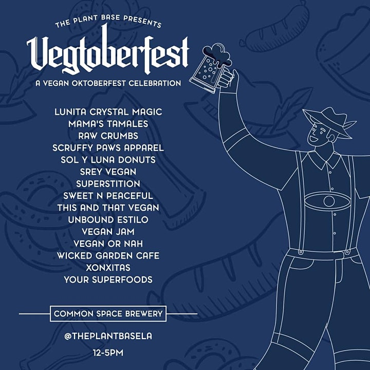 Vegtoberfest Presented by The Plant Base LA + Common Space Brewery image