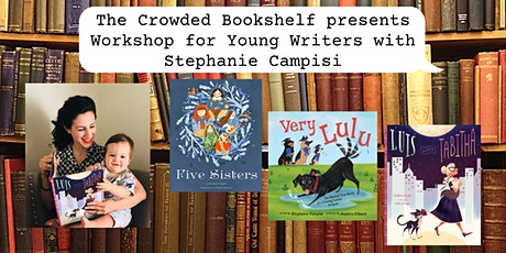 Kids Writing Workshop with author Stephanie Campisi! tickets