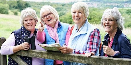 October 24 | 9 – 11 am | Senior Hike tickets