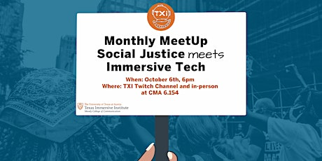 Texas Immersive Monthly MeetUp tickets