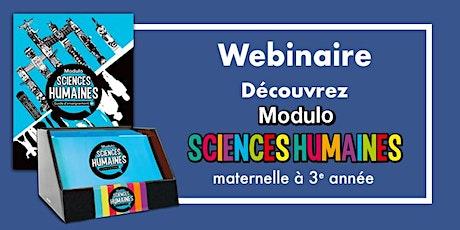 Présentation de la collection « Modulo sciences humaines (M-3) billets