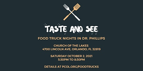 Taste & See Food Truck Night in Dr. Phillips tickets