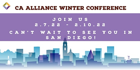 2022 California Alliance Winter Conference tickets