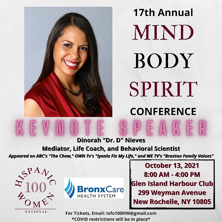 2021 Mind, Body, Spirit Conference image