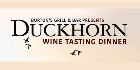 Duckhorn Wine Tasting Dinner tickets