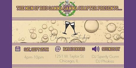 Rho Gamma Gamma Chapter Chicago Presents... Champagne SaturDay tickets